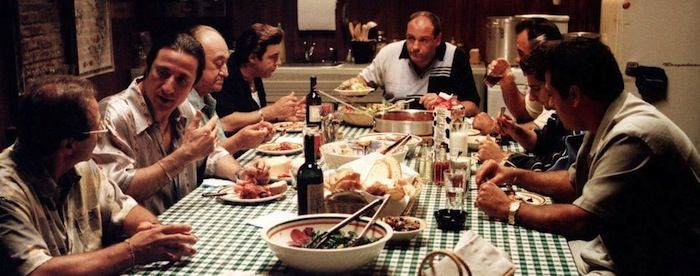 Image result for the sopranos eating