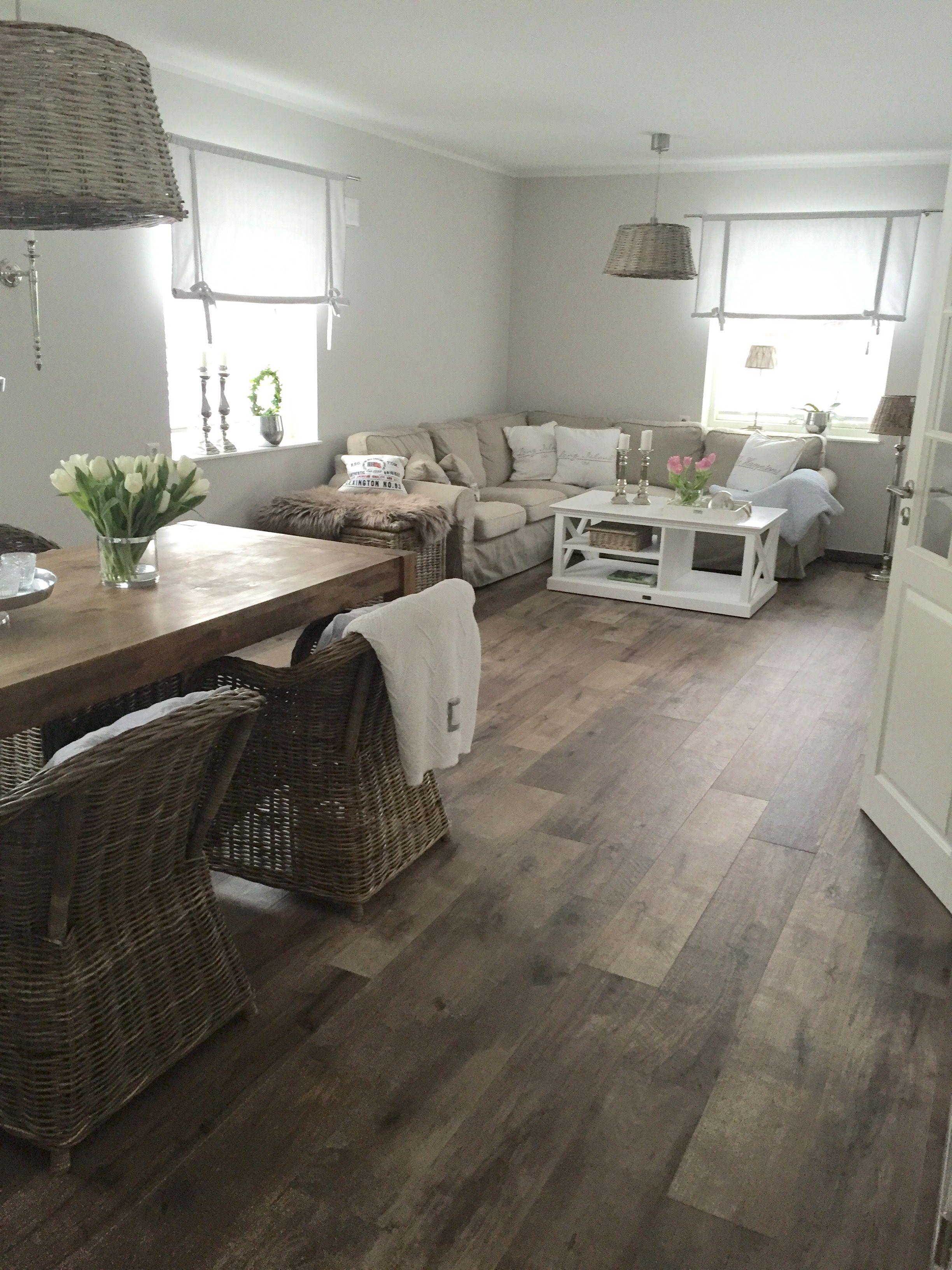Unser Wohnzimmer Leben im Schwedenhaus im New England Stil www ...