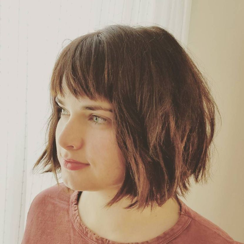 The Cool Girl Haircut Thatll Be Everywhere In 2017 Bob With Bangs