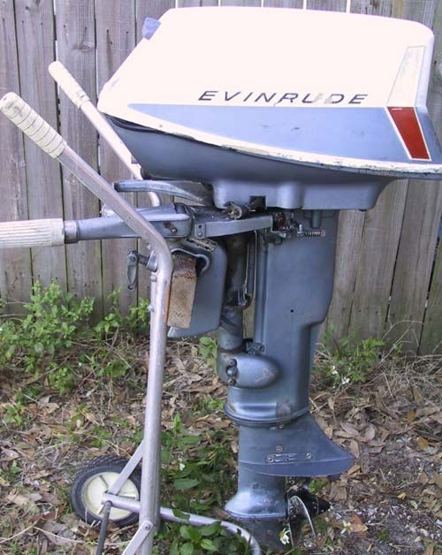 10 hp Evinrude Sportwin Outboard Boat Motor For Sale | Outboard