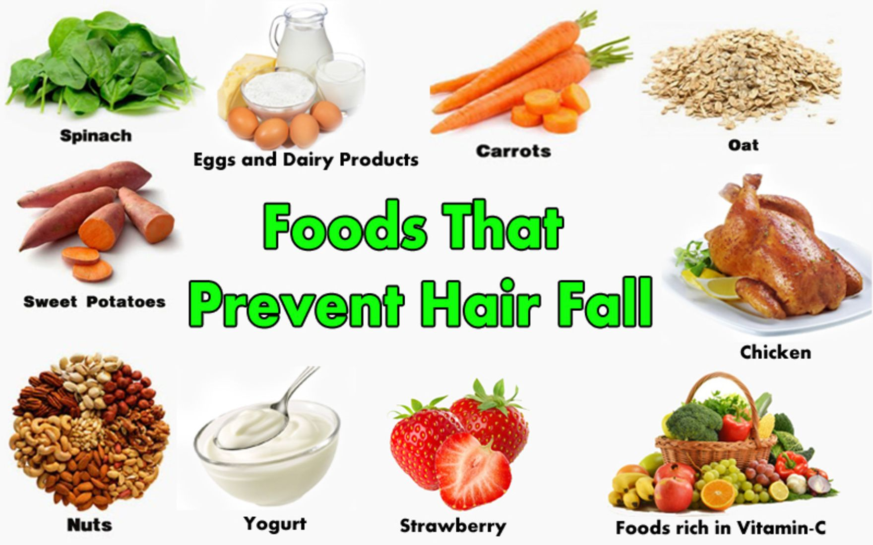 Try This Foods To Prevent Hair Fall Naturally Visit Gohairlosstreatment Com Hairloss Hairlosssolution Hairlosstreatment Hairlosshelp Hairlossprevention