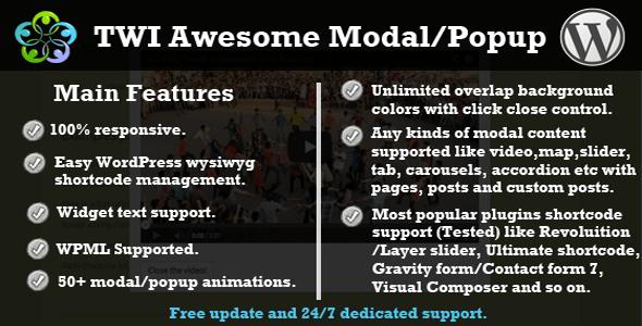 Twi Awesome Modalpopup Login Form WordPress Plugins Pop Up