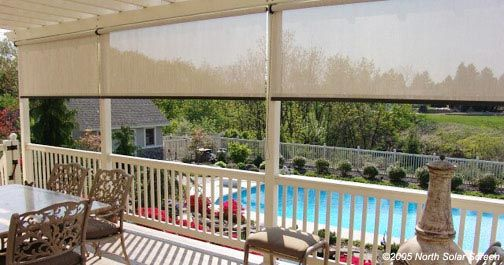 Enjoyable Outdoor Living How Outdoor Shades Can Spruce Up Your