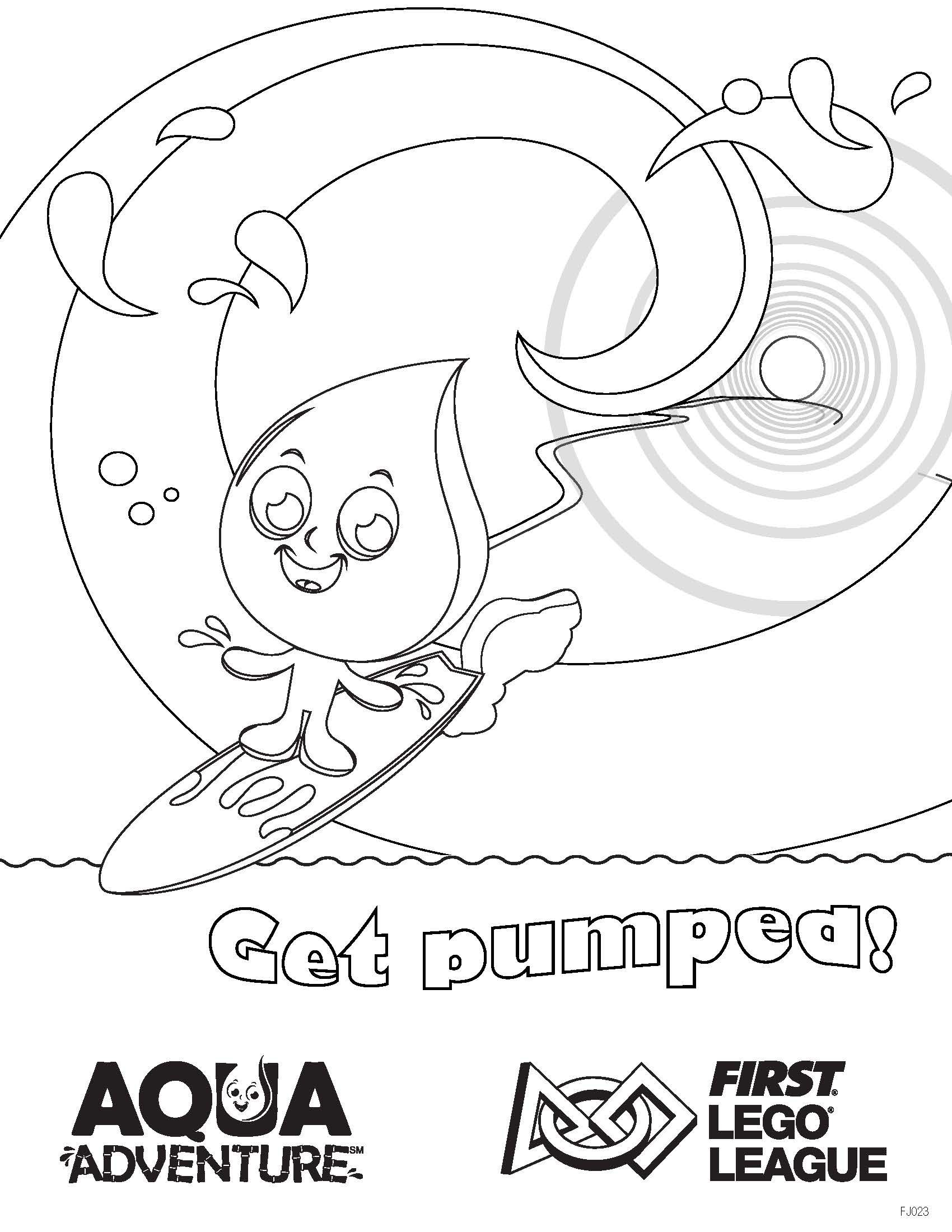 Download, #color, and print this AQUA ADVENTURE-themed