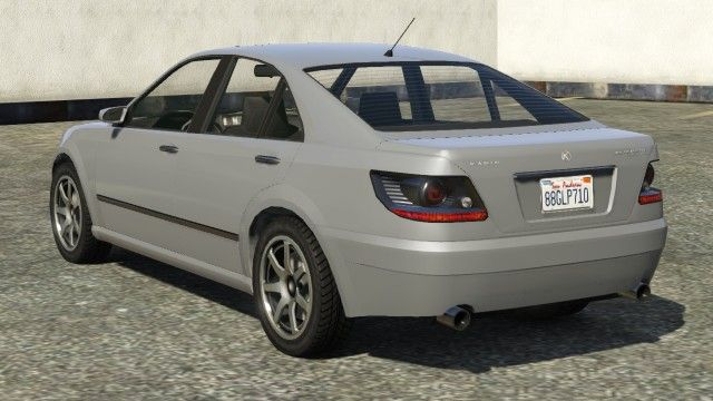 Silver Karin Asterope Gta Rear View Gta Sedans Pinterest