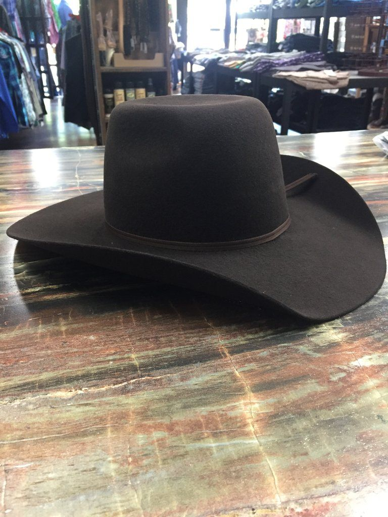 b79a452602 Twister Youth Punchy Wool Cowboy Hat- Brown in 2019