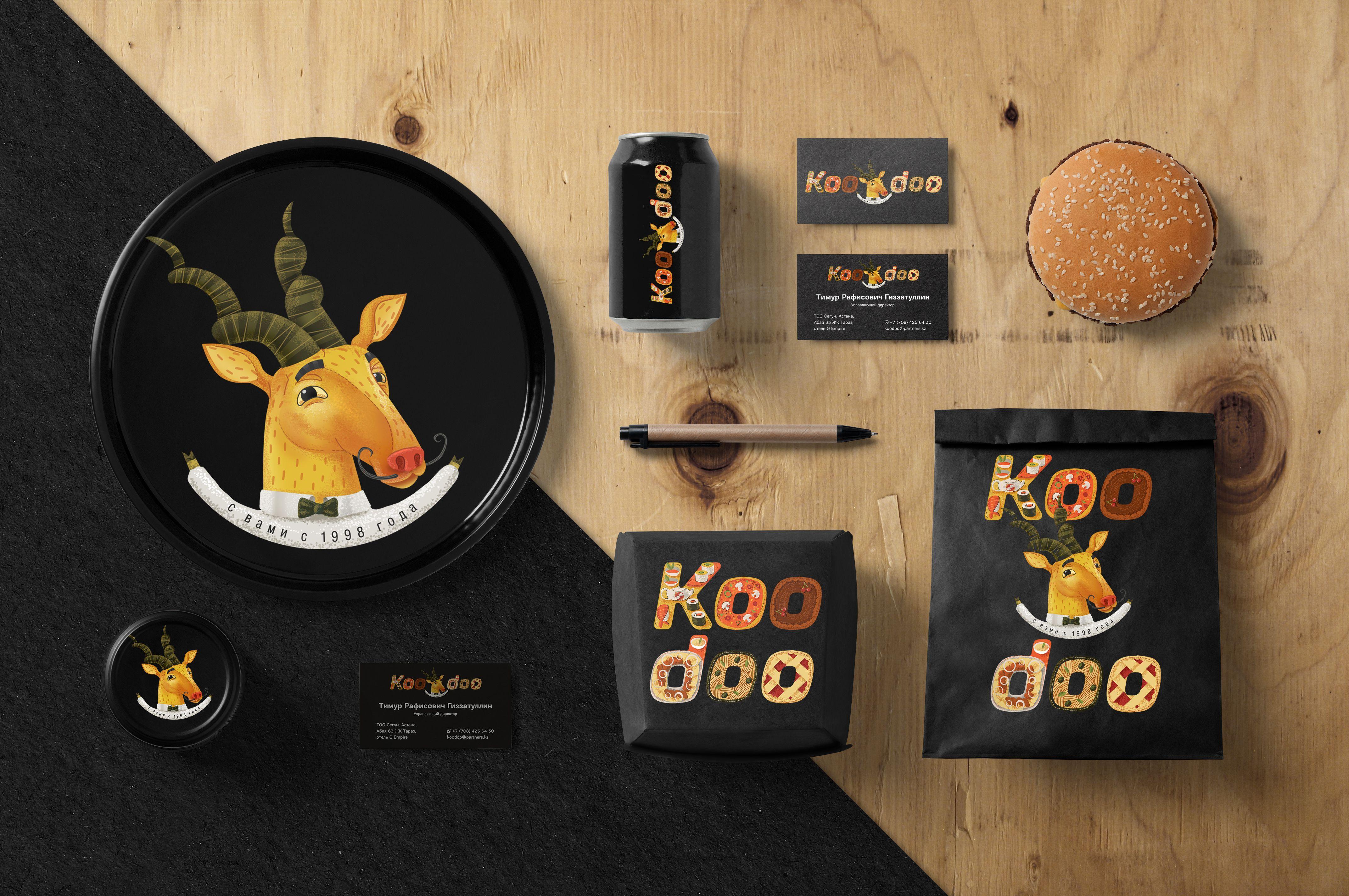 Logo And Brand Book For Koodoo