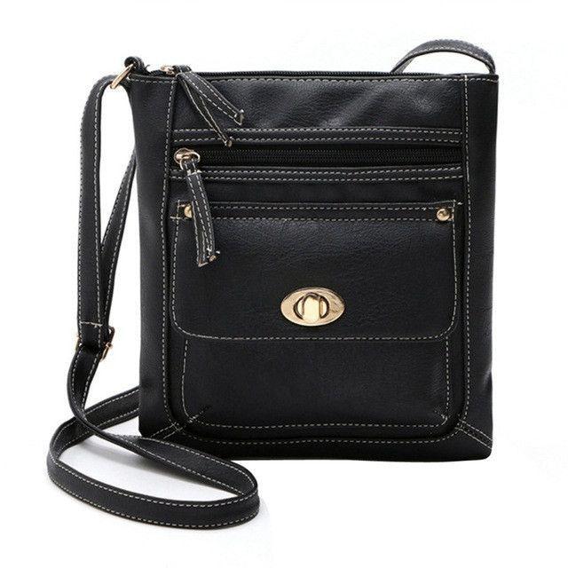 757112983d 2017 New Promotion Women PU Leather Vintage Messenger Bags Hobo Tote  Satchel Female Famous Designer Crossbody Bag