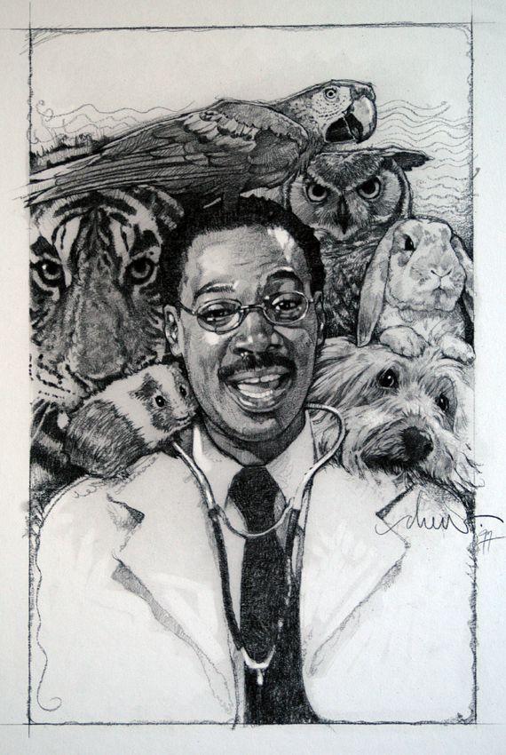 Dr Doolitle 1997 By Drew Struzan Drew Struzan Pinterest