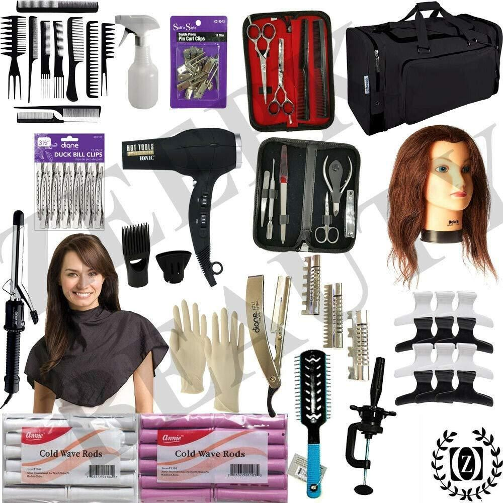Beauty barber school kit cosmetology student barber
