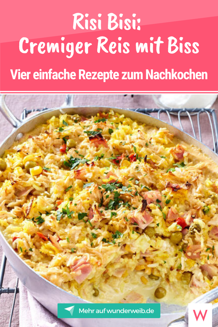 Reisauflauf: Vier einfache Rezepte zum Nachkochen   Wunderweib
