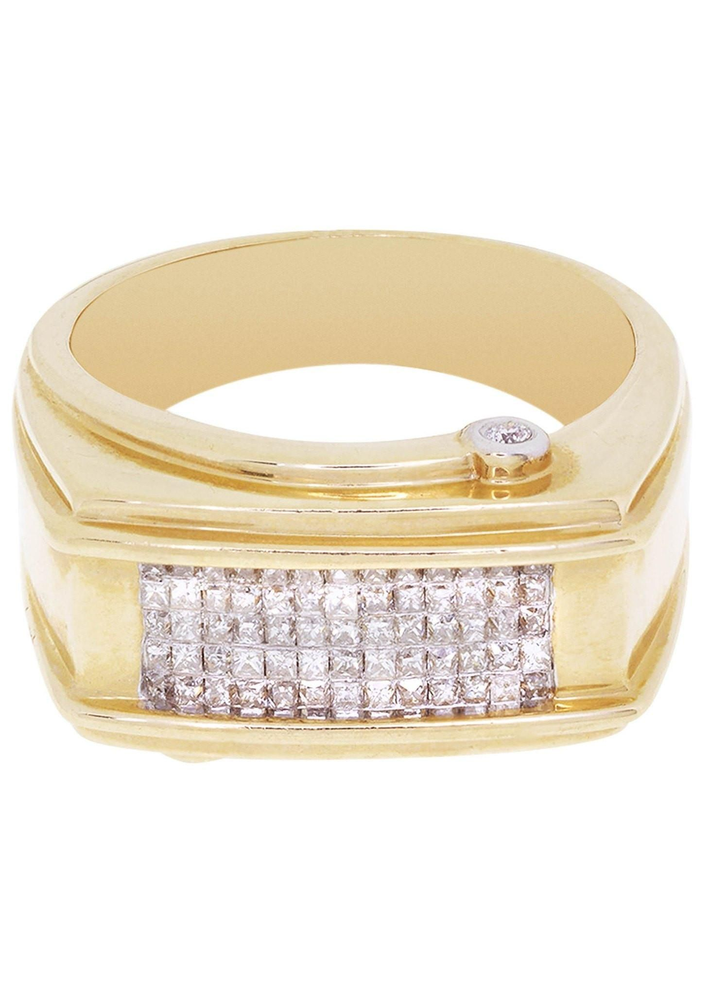 Adorewe frost nyc mens diamond pinky ring carats
