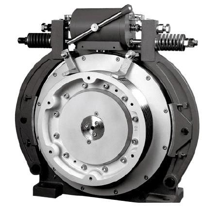 Drum Brake Pm Gearless Traction Machine - China Elevator Traction
