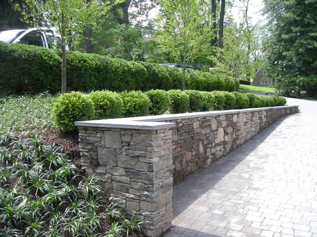 Leydon Landscaping Inc Paver Driveway With Retaining Wall