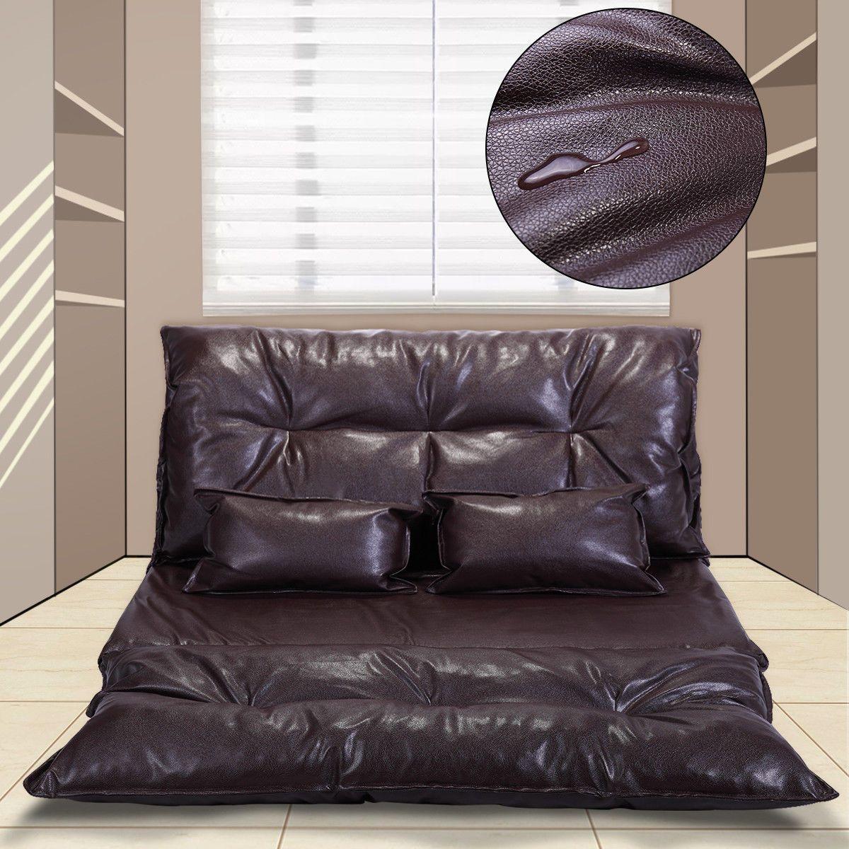 Gaming Sofa | 88 49 Home Theater Seats Loveseat Sofa Seating Foldable Pu Leather