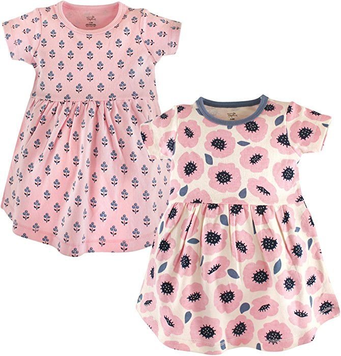 2cc76a3be Amazon.com  Touched by Nature Baby Girls  Organic Cotton Dress