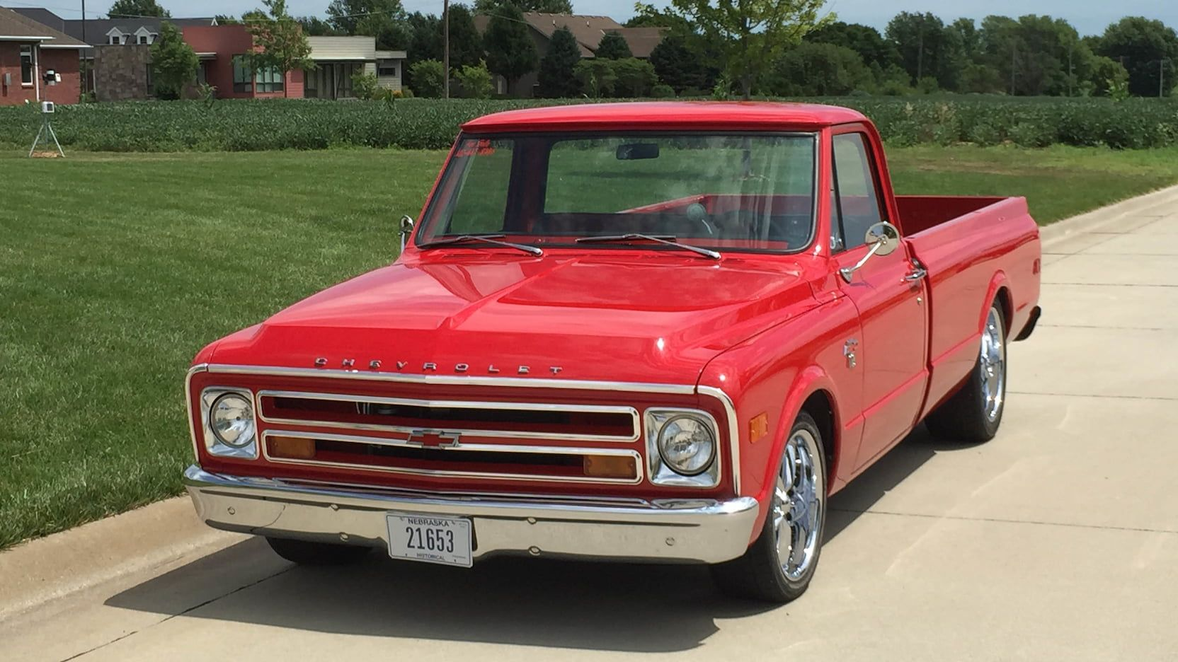 1968 Chevrolet C10 Pickup presented as Lot S141 at