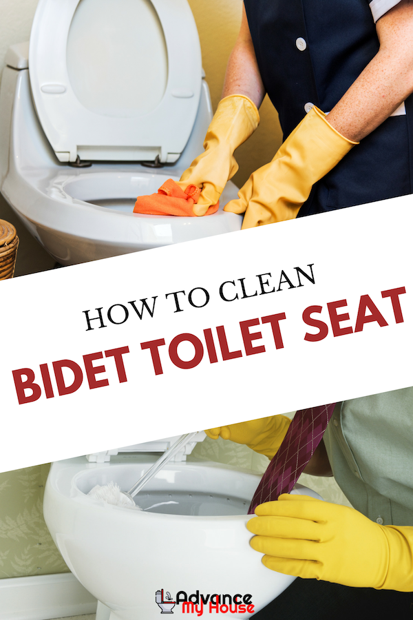 How To Clean Bidet Toilet Seat Bidet Toilet Seat Toilet Cleaning