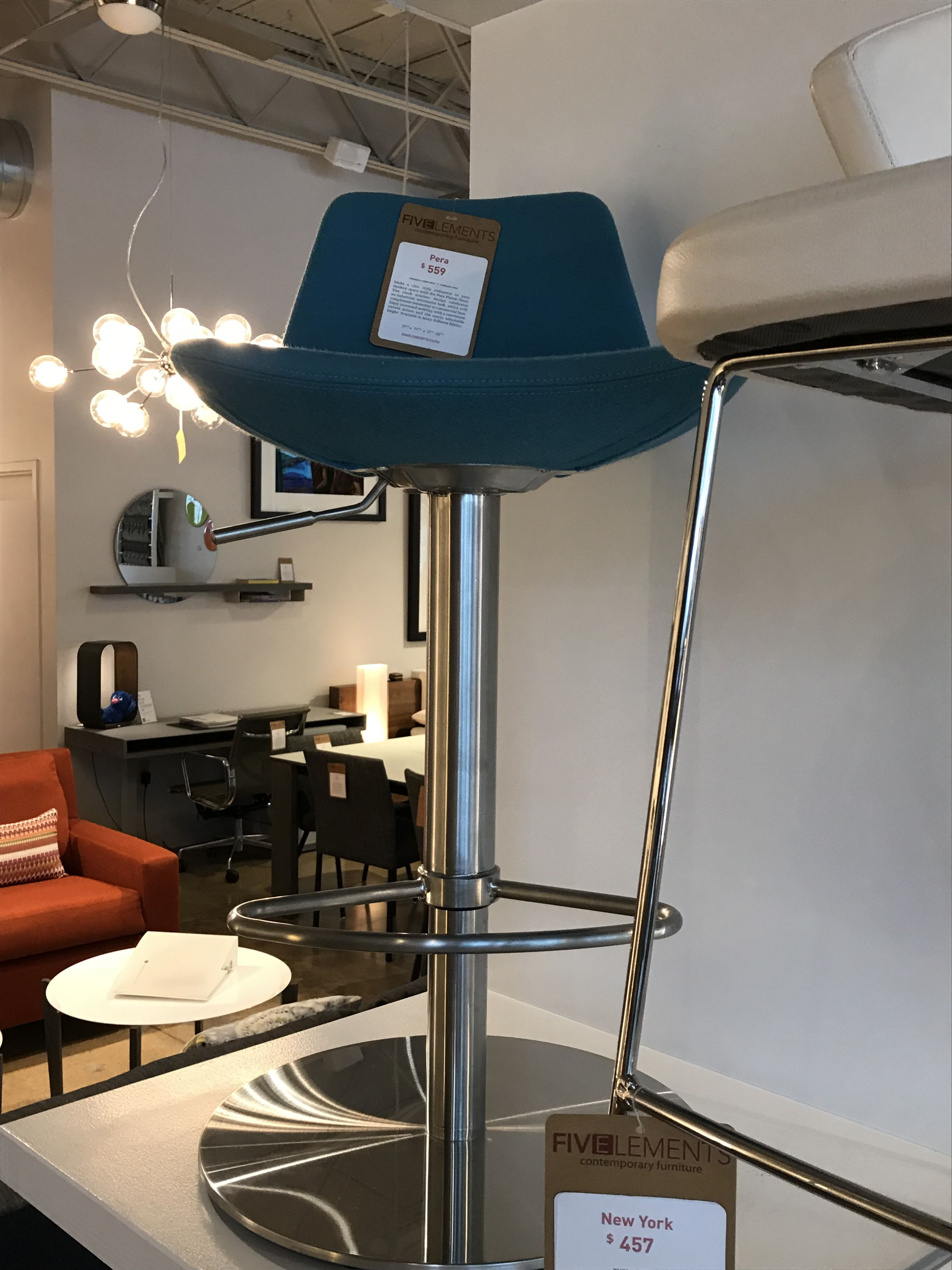 Barstool At Five Elements Fifth Element Bar Stools Stool Sports Counter Height