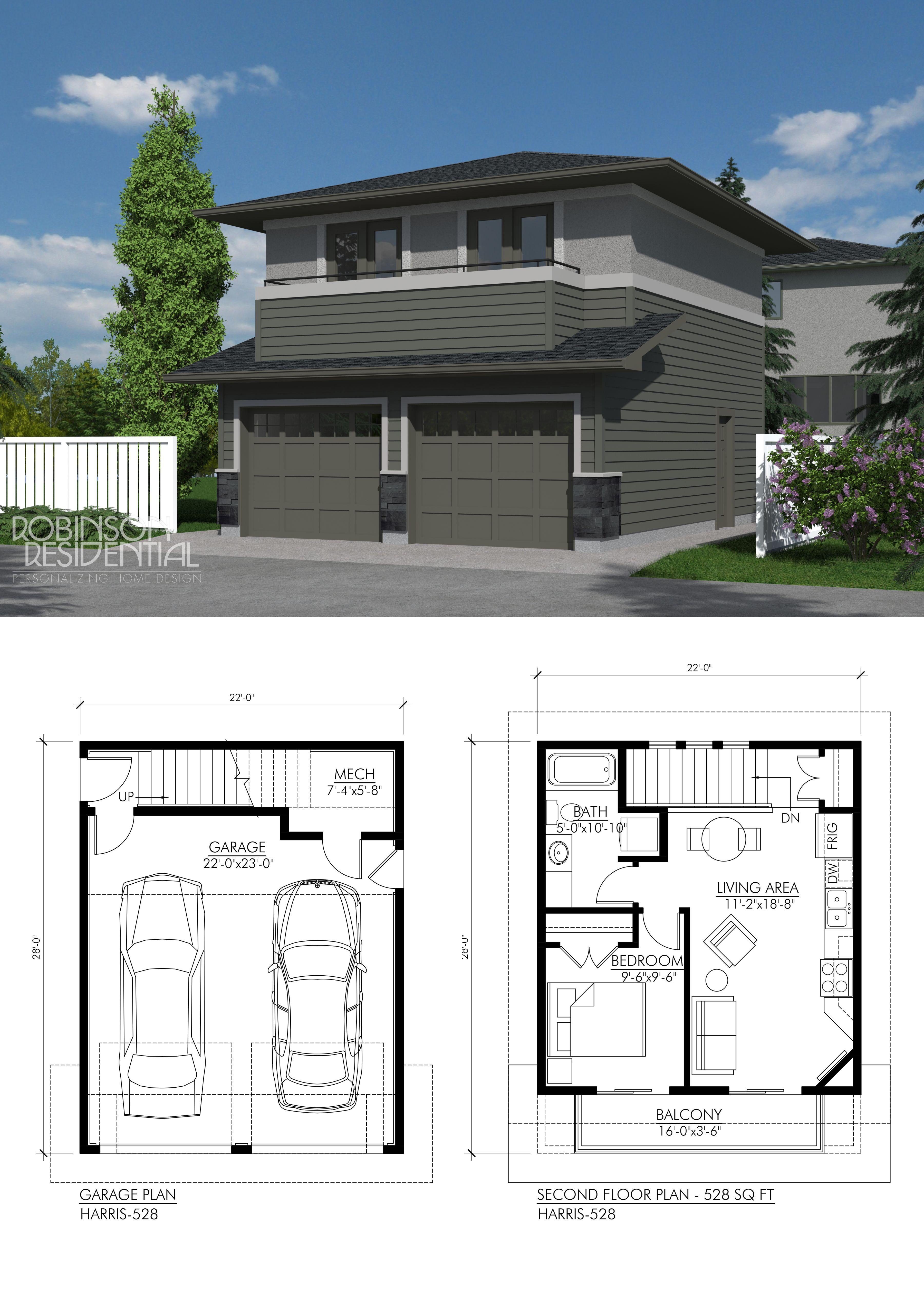 Prairie Harris528 Robinson Plans Carriage house plans Ga