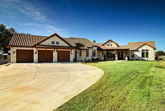 Hill country homes custom home builders new home Custom built ranch homes