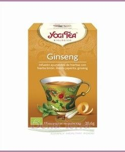 Infusion De Ginseng Ecologica Yogi Tea Te Floral Infusiones