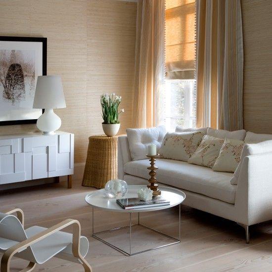 Lässige Creme Wohnzimmer Wohnideen Living Ideas Interiors - wohnideen wohnzimmer moderne