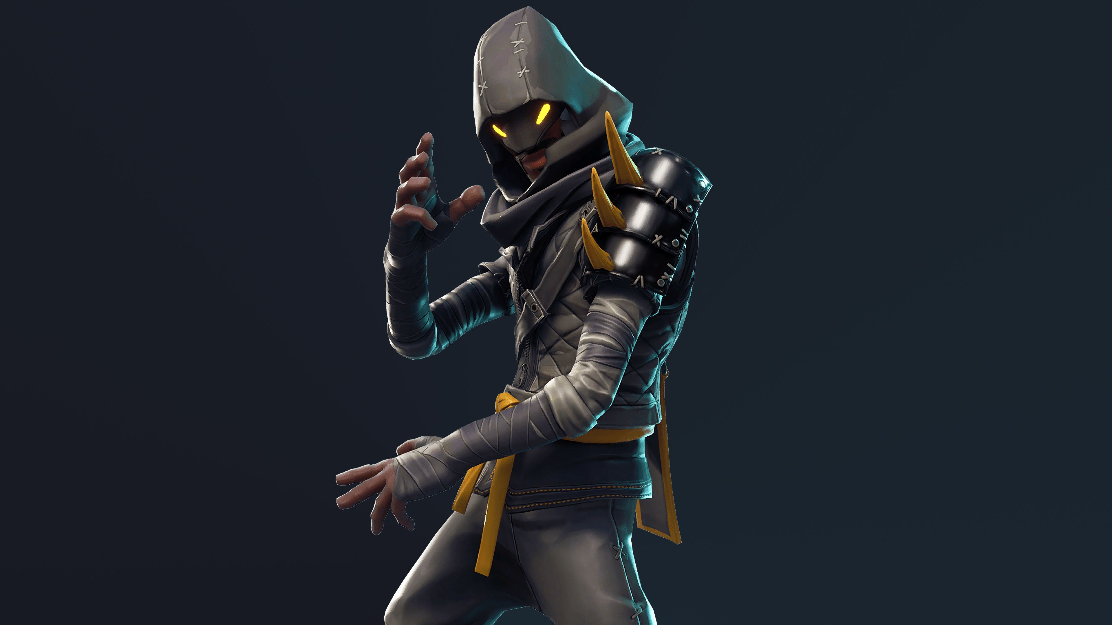 Wallpaper 4k Cloaked Star Ninja Fortnite Battle Royale 2018 Games