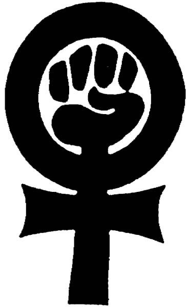 This Hand Fist Being The Base Line For The Gender Symbol Of Woman