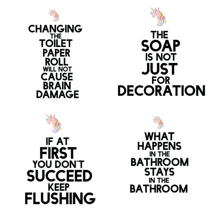 Cute Bathroom Signs Funny Printable Bathroom Signs Cute Printable Bathroom Signs Homefield Arte De Bano Humor De Bano Remodelacion Del Bano