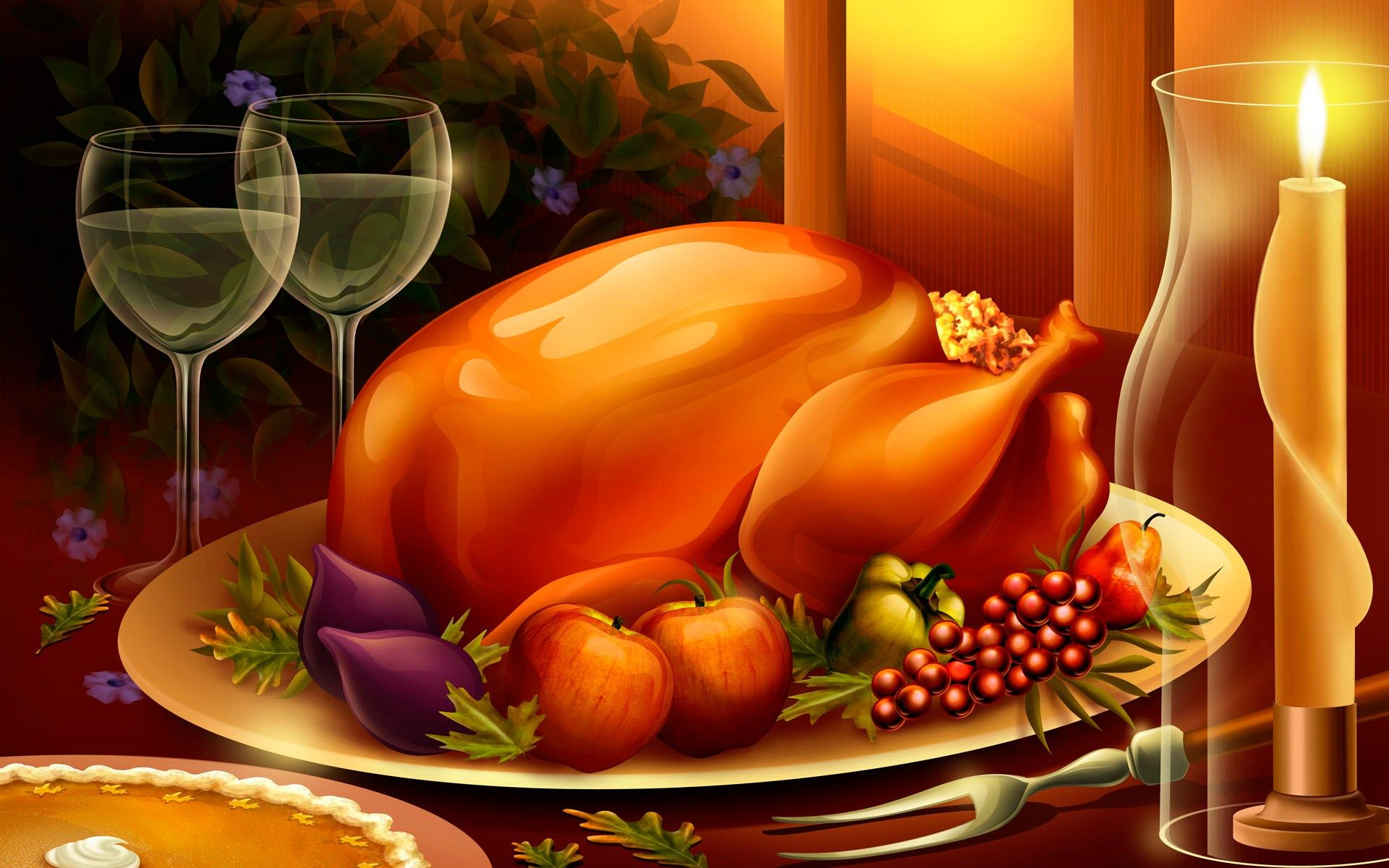 Thanksgiving Dating Sim Deviantart Wallpaper Widescreen