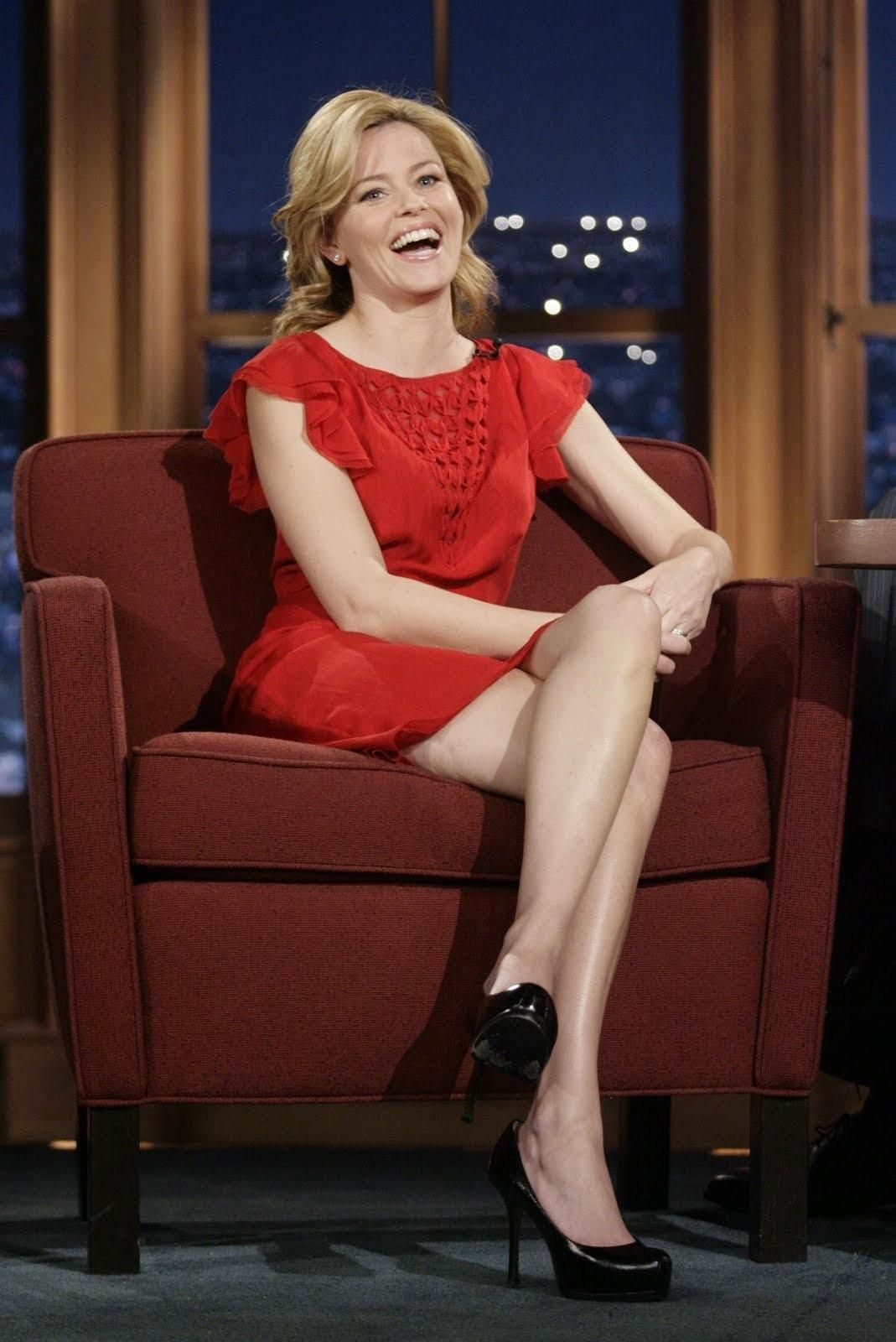 This Elizabeth banks legs matchless theme