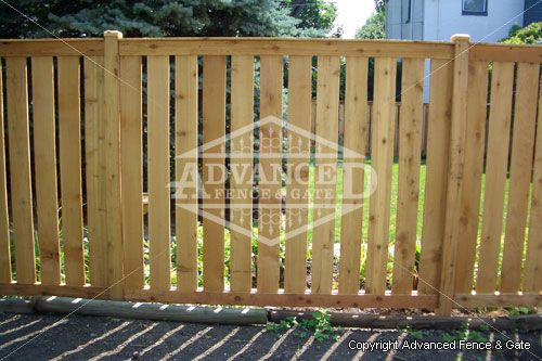 Advanced Fence Gate Specializes In Chicago Wood Fences And Installation Call 616 656 4049 For A Free Quote