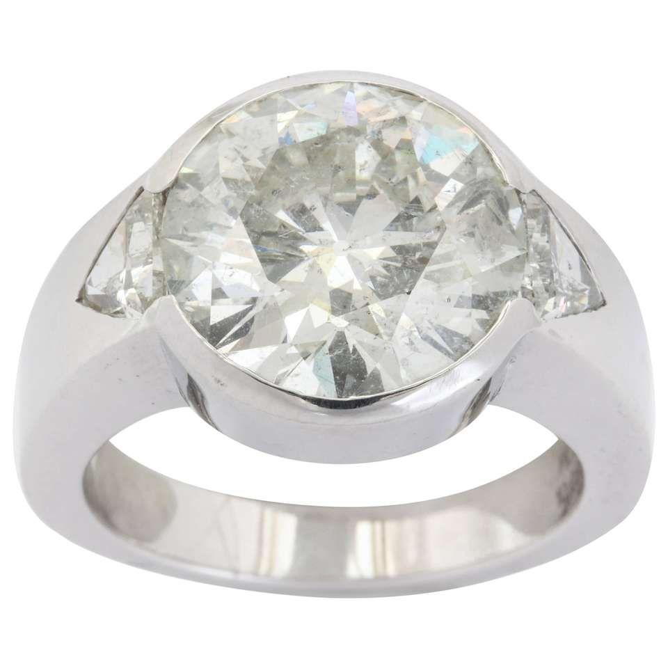 10 Carat Round Diamond Men S Ring Men Diamond Ring Rings For Men Mens Rings For Sale