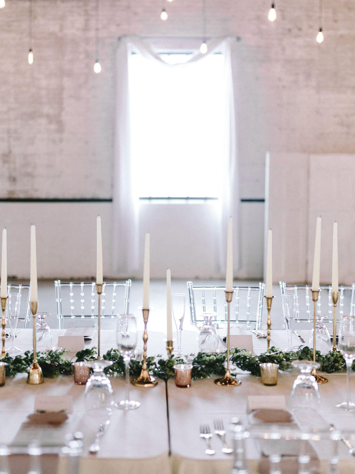 An Industrial Meets Ethereal Wedding at The Brick Hannah