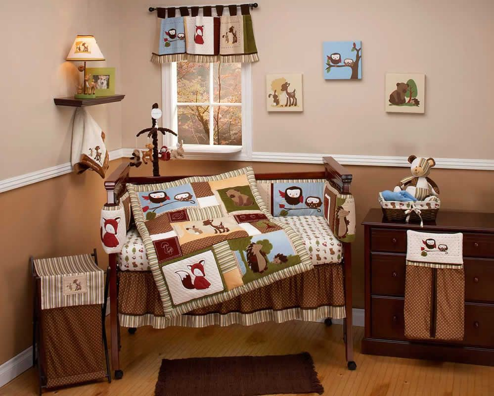 enchanted hollow baby crib bedding seteddie bauer | for one