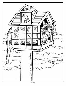Mimi Vang Olsen Cats Coloring Book Cat Coloring Book Cat Coloring Page Coloring Books