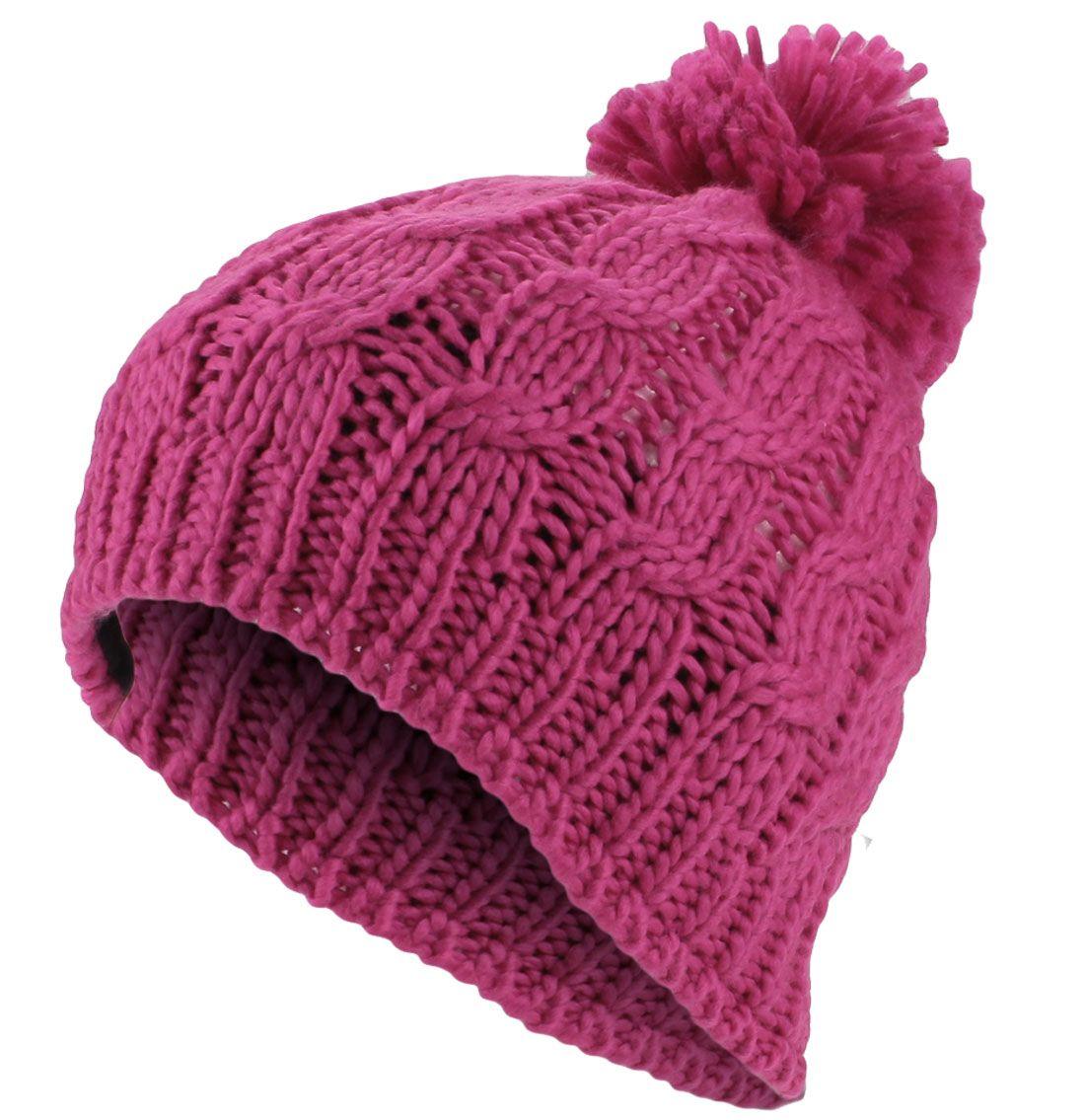 gorros de lana mujer con pompon - Buscar con Google  01c46d5a12a