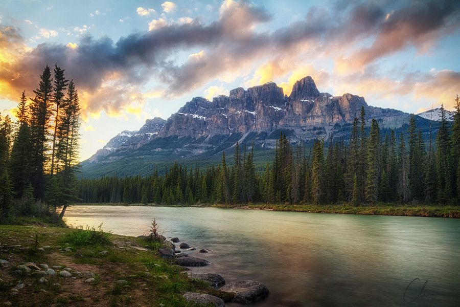 A Banff sunset v1 by Chris Greenwood on 500px
