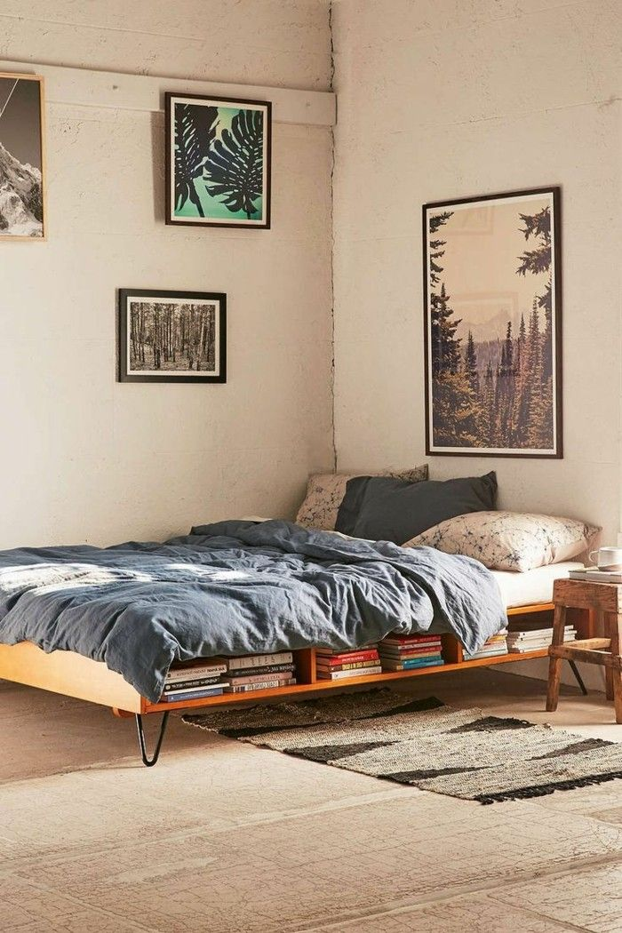 bett selber bauen ein paar sch ne ideen in sachen diy bett pinterest bett selber bauen. Black Bedroom Furniture Sets. Home Design Ideas