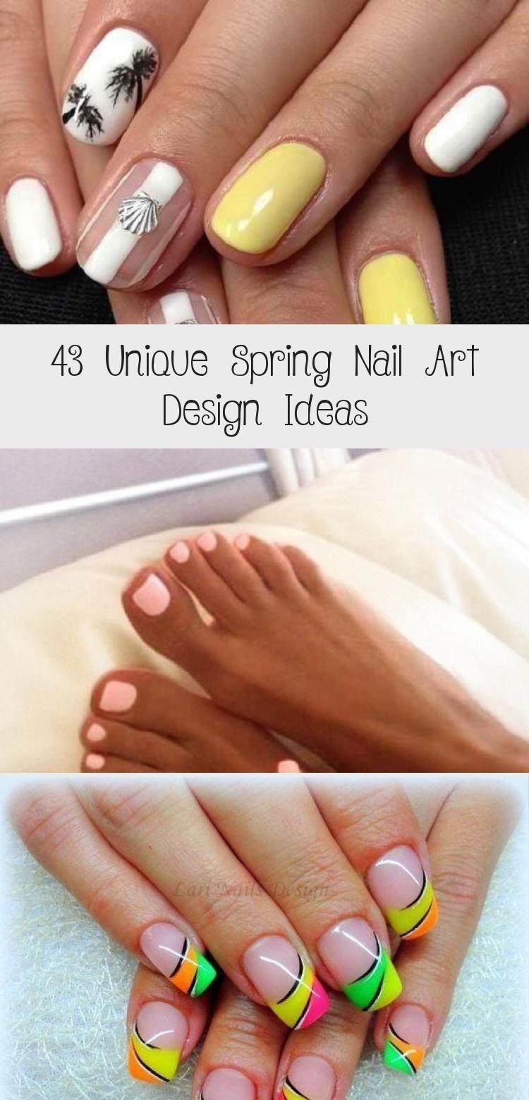 Photo of 43 Unique Spring Nail Art Design Ideas – Nail Art
