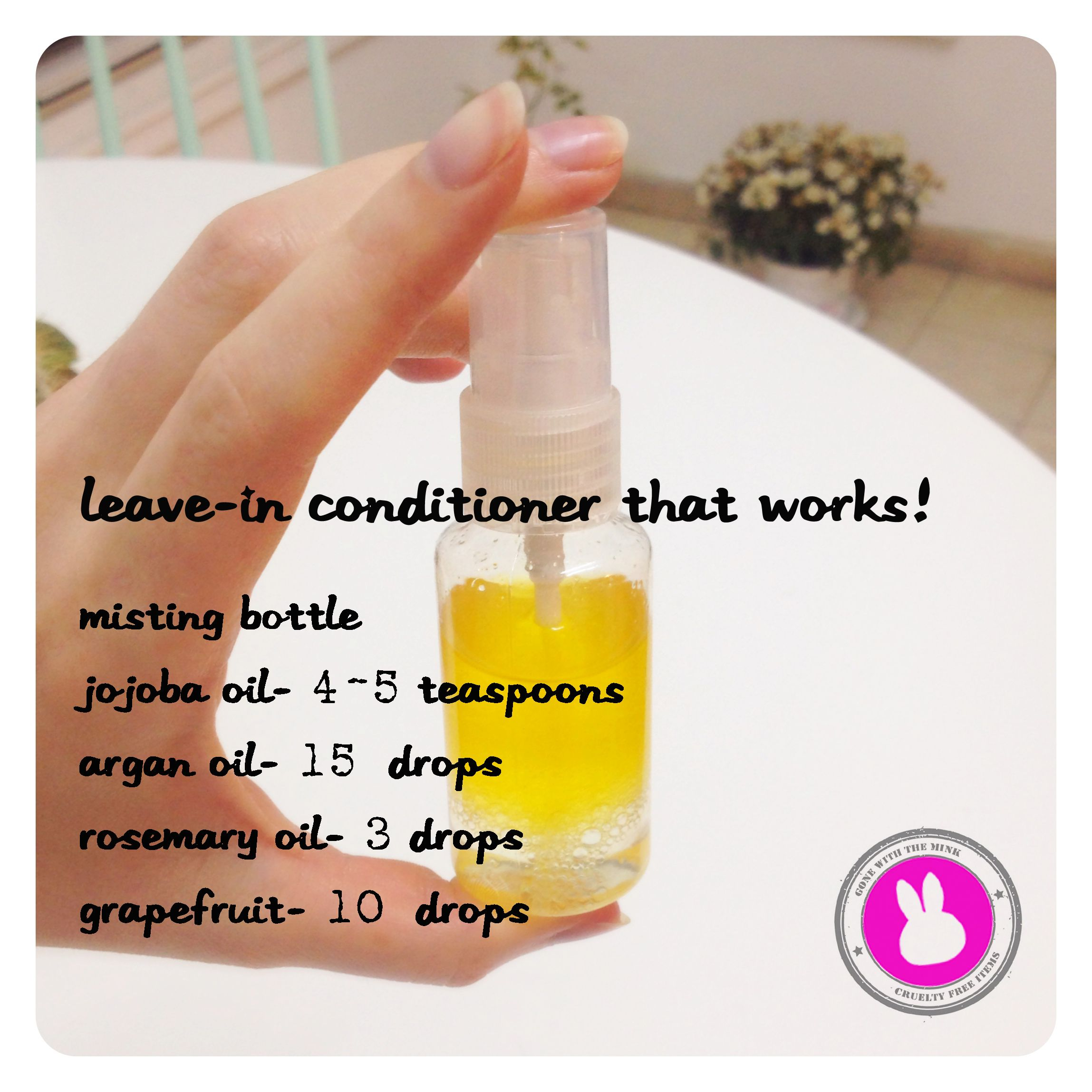 LeaveIn Conditioner that works! Homemade hair products
