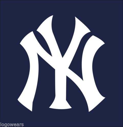 6 ny new york yankees car truck decal