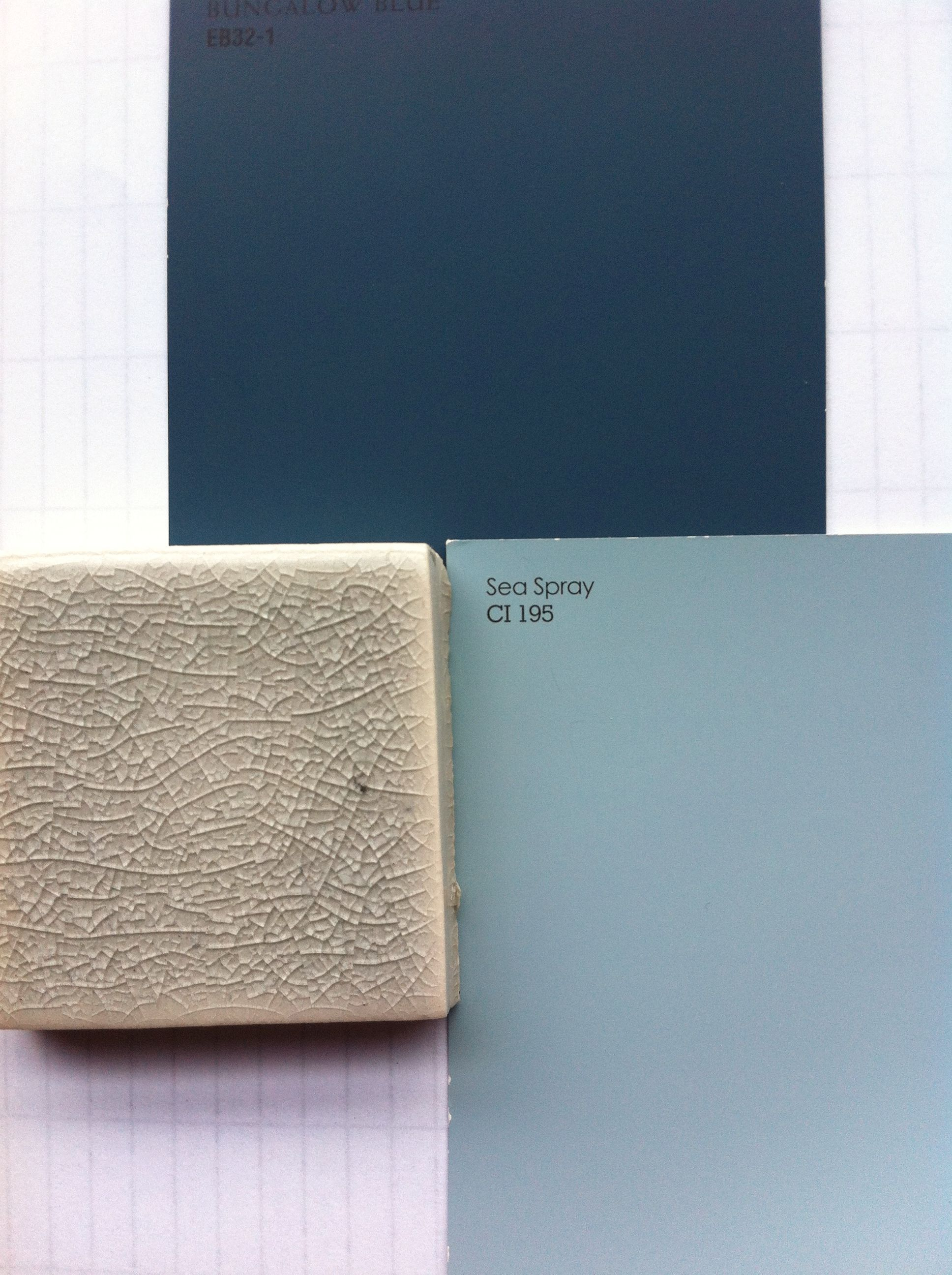 Color ideas (a little more gray-green than picture shows ...