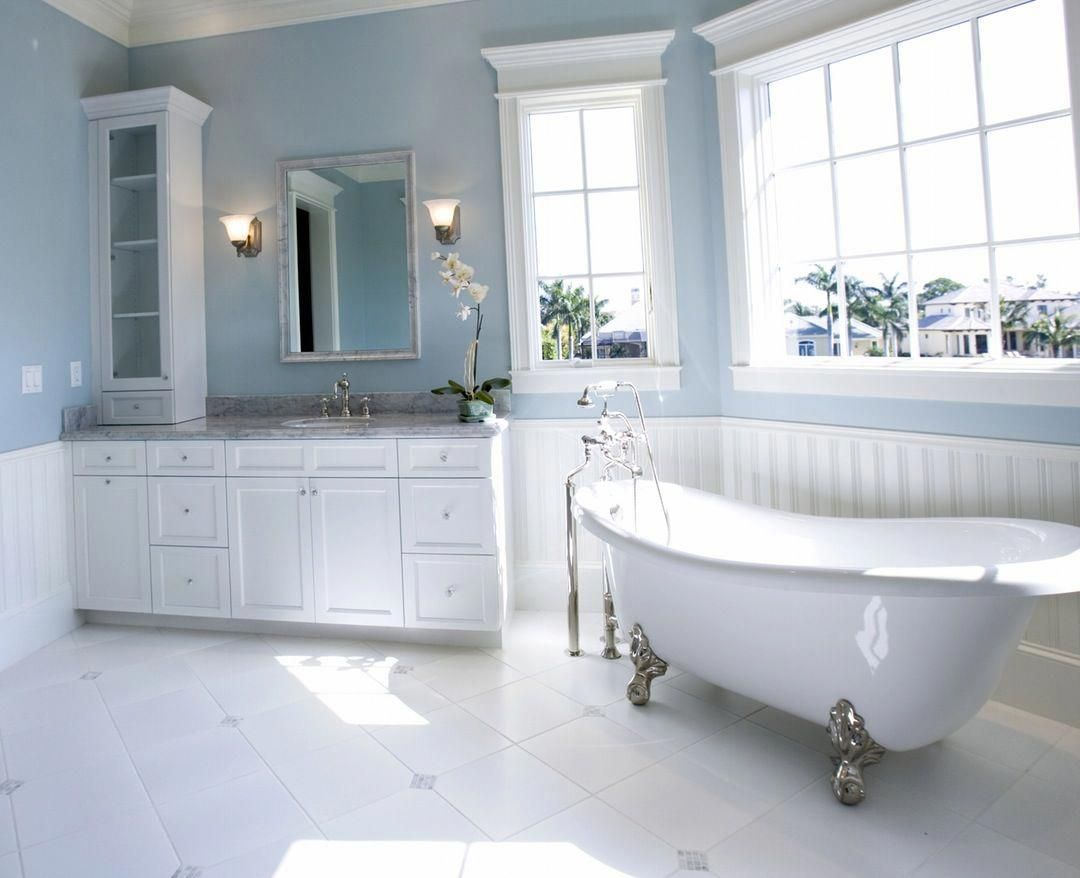 Light Blue Bathroom Decor Ideas Lightbluebathroomvanity Bathroom Color Schemes Best Bathroom Colors Bathroom Interior