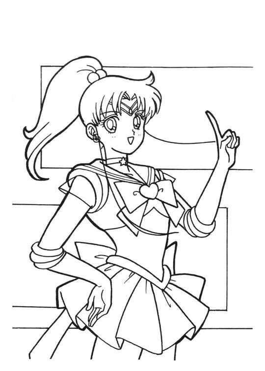 For My Friends That Want Color Time As An Adult Sailor Moon Series Coloring Pages Jupiter