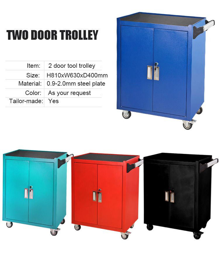 2 Door Metal Tool Trolley Cabinet The 5 Drawer 6 Drawer 7 Drawer Tool Trolley Cabinet Can Be Provided I Tool Storage Cabinets Cabinets Direct Tool Storage