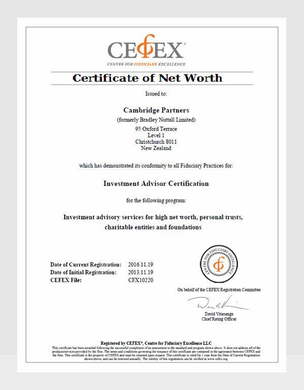 6 Net Worth Certificate Formats Free Printable Word Pdf