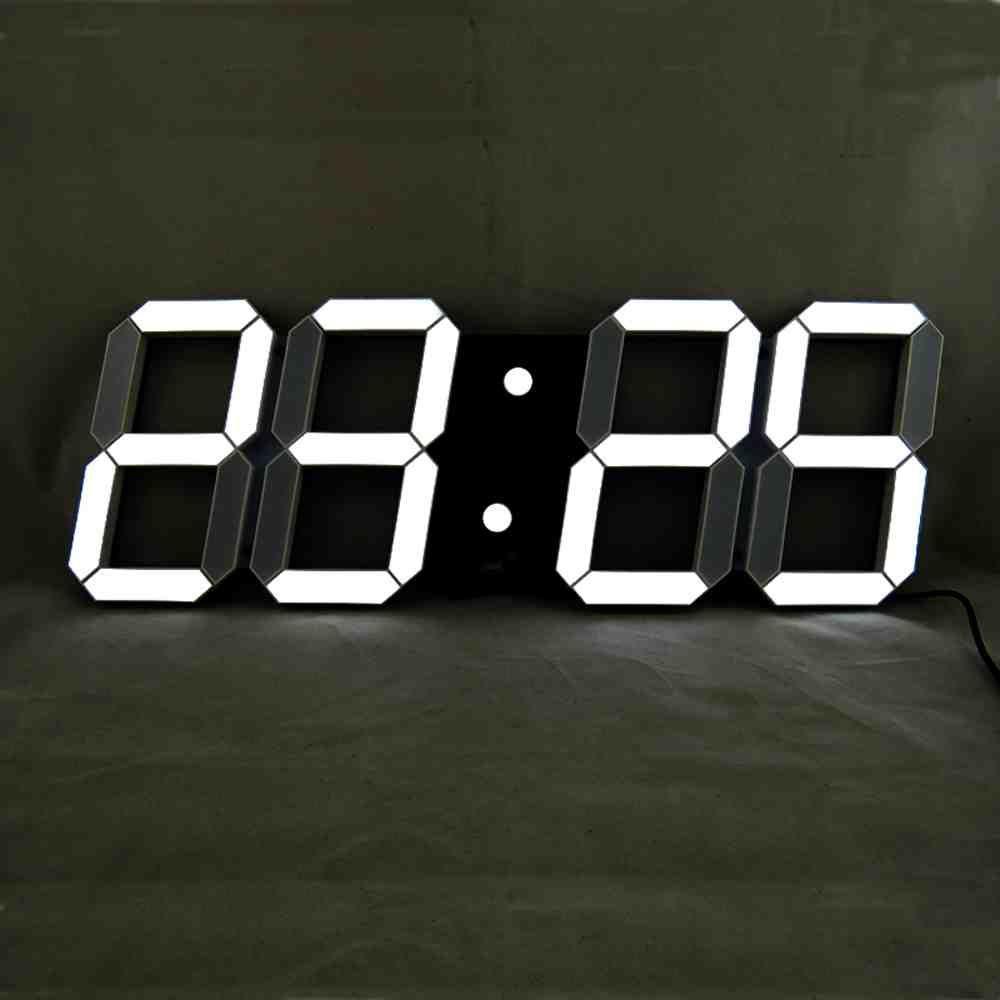 Large Led Digital Wall Clock Large Digital Wall Clock Big Wall