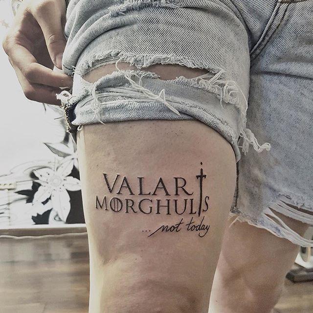 Valar Morghulis Inspiring Ideas T Dvme Ve Dvme